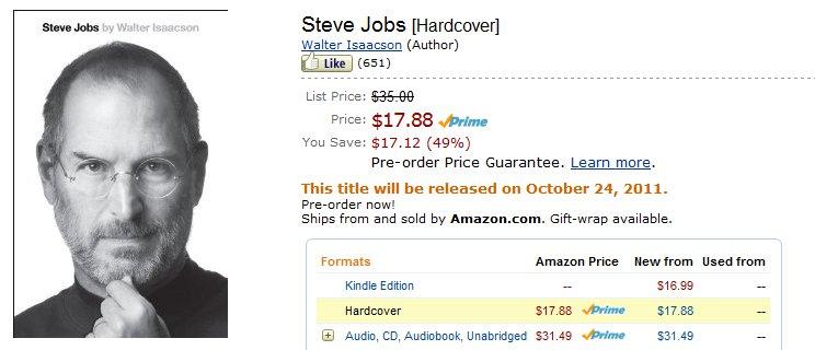 Steve jobs death date