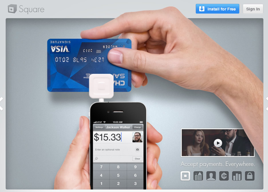Paypal takes on square with its mobile triangle vatornews in 2011 square clocked in 1 million merchants using the mobile payments platform which equates to one in eight merchants that accept credit cards in the reheart Image collections