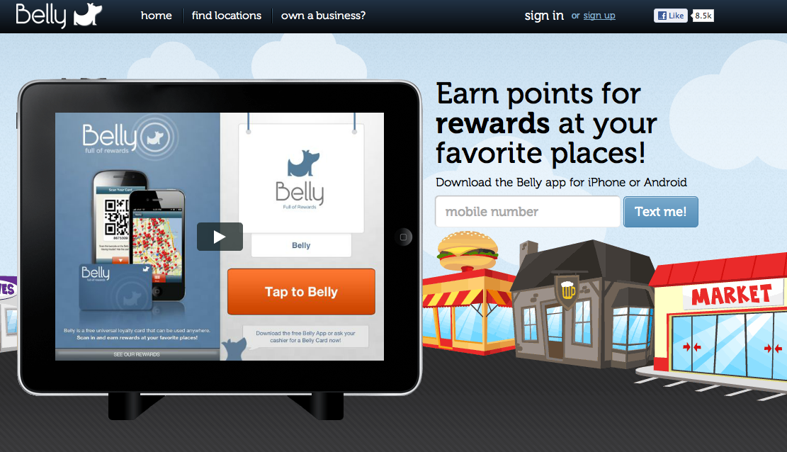 Belly fastens on $10M to build an eccentric loyalty app | VatorNews