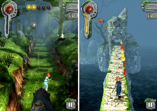 Disney adapts popular mobile game Temple Run for Brave VatorNews