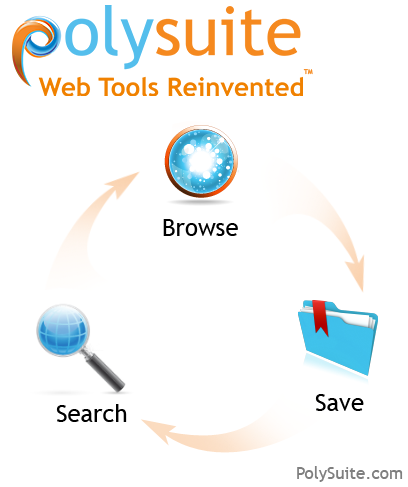 PolySuite: The Search Engine, Browser and Bookmark Reinvented