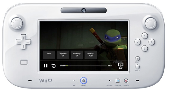 hulu plus comes to the wii u with gamepad integration vatornews. Black Bedroom Furniture Sets. Home Design Ideas