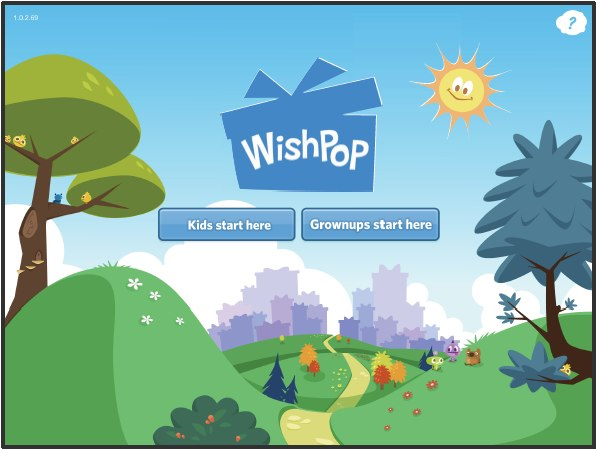 WishPop App Home