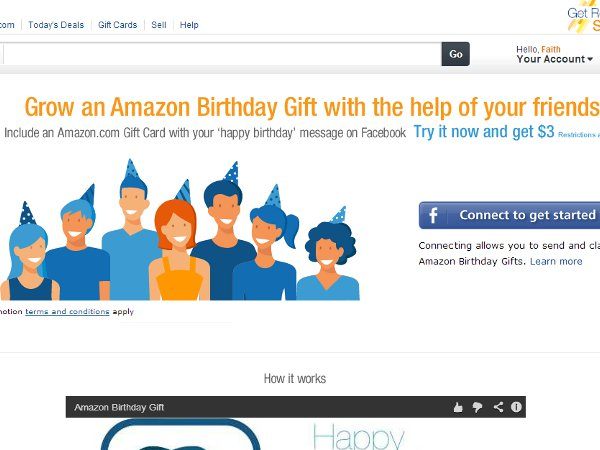 Amazon launches amazon birthday gift for pooling gifts vatornews amazon likes to stir shit up like wearing the same skirt as the hottest girl in school on the first day of classes to show everyone that amazon wears it negle Choice Image
