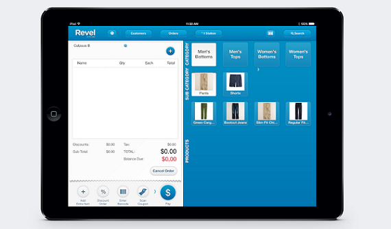 with old incumbent legacy point of sale systems being bulky expensive and slow revel systems a provider of ipad point of sale systems for retail