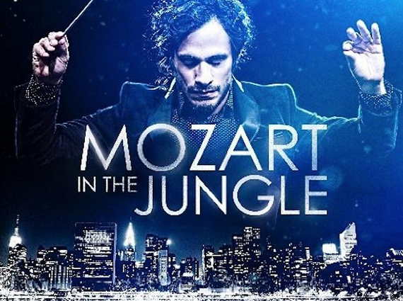 'Mozart in the Jungle' wins comedy series Globe