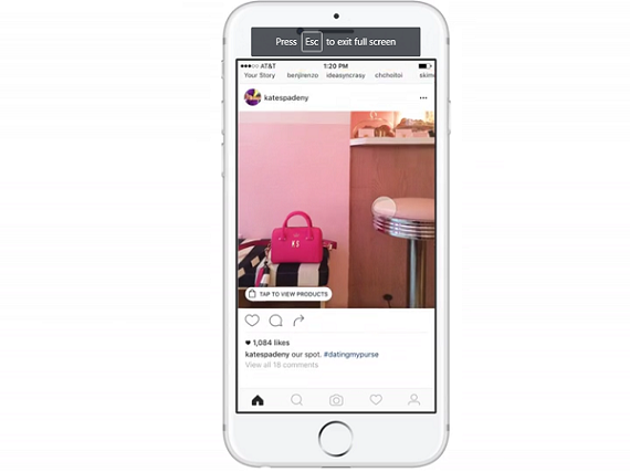 Facebook-owned Instagram getting into shopping