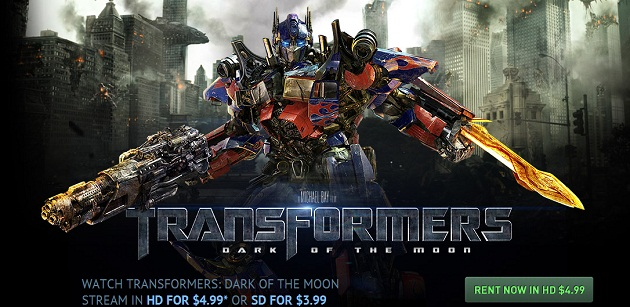 paramount to stream 39 transformers 3 39 from website vatornews. Black Bedroom Furniture Sets. Home Design Ideas