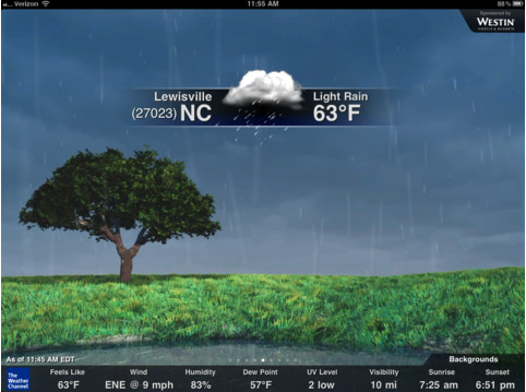 VatorNews | The Weather Channel brings 3D app to the iPad