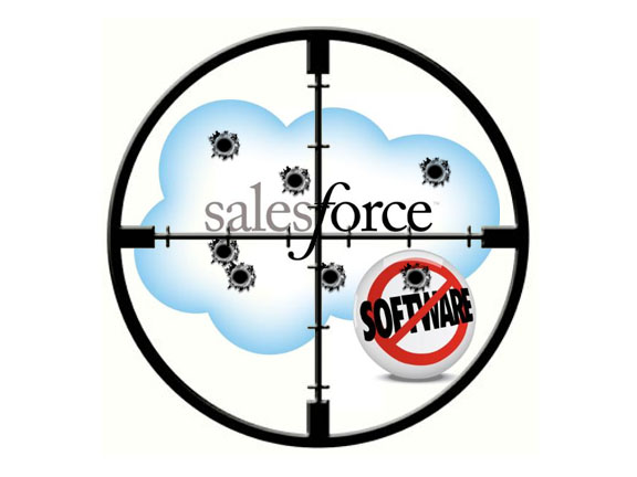 Salesforce Blown Away By PipeJump's Uzi?