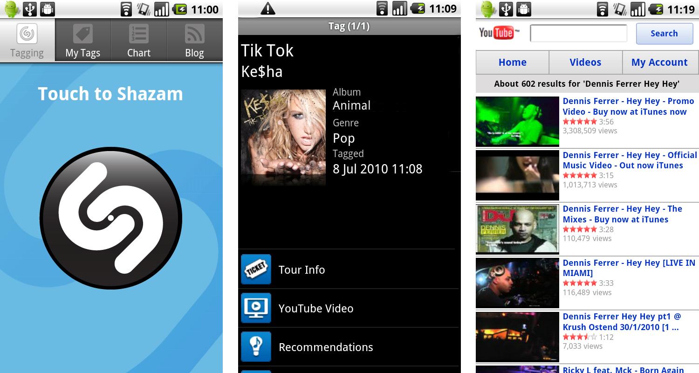 Скачать бесплатно приложение shazam для андроид.