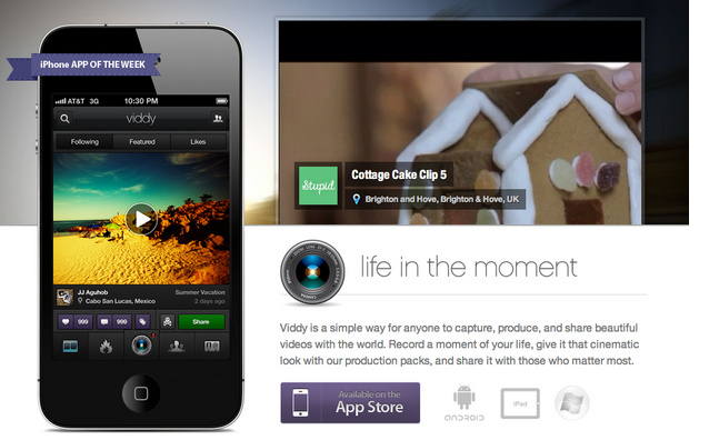 VatorNews   Viddy confirms $30M to compete with mobile video apps