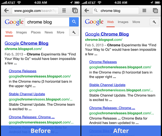 VatorNews | Google updates Chrome for Android and iOS