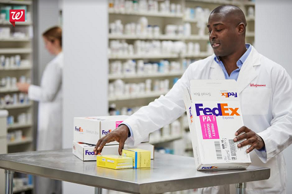 Walgreens launches next-day prescription delivery with FedEx